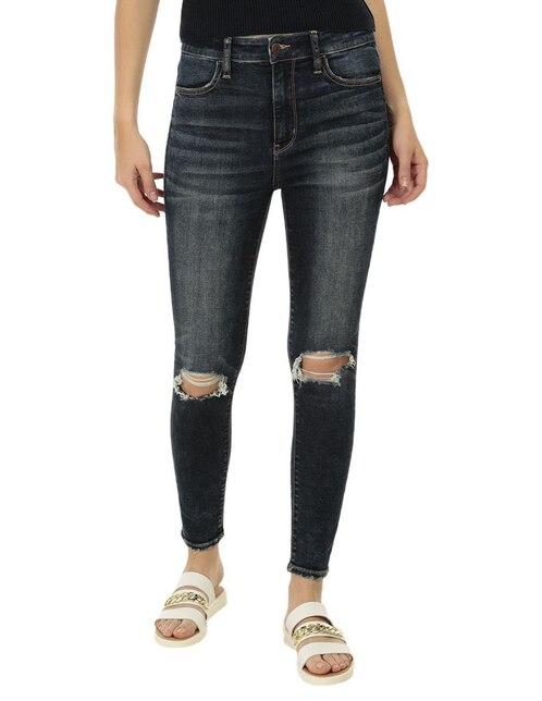 92f3797abc Jeans American Eagle corte skinny azul obscuro