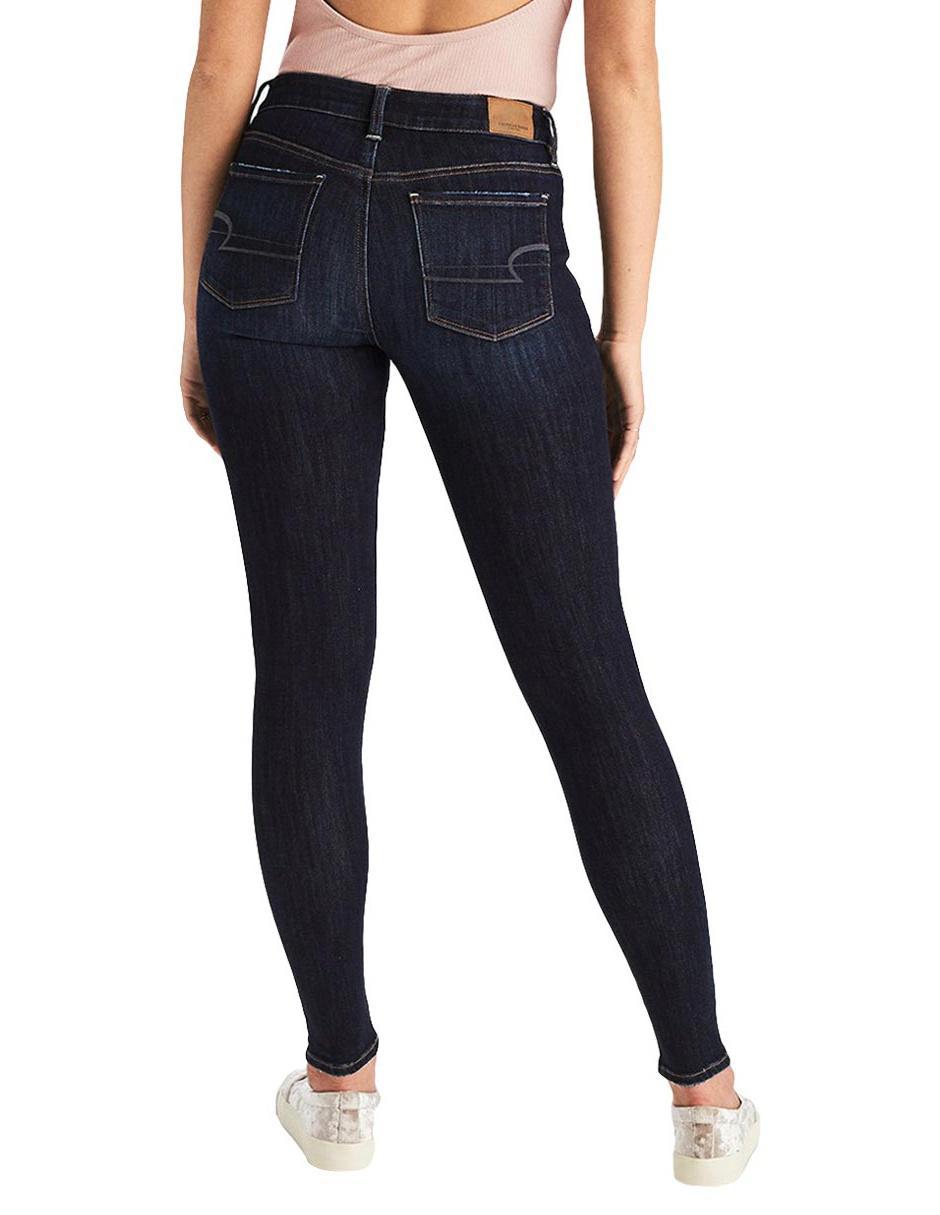 Jeans American Eagle Skinny Azul Obscuro En Liverpool