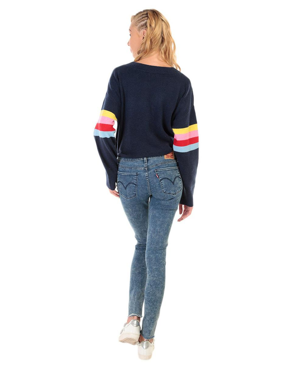 cf369fe66ce8 Levi s Skinny Jeans Azul Medio Corte fRcqw7d for seriously ...