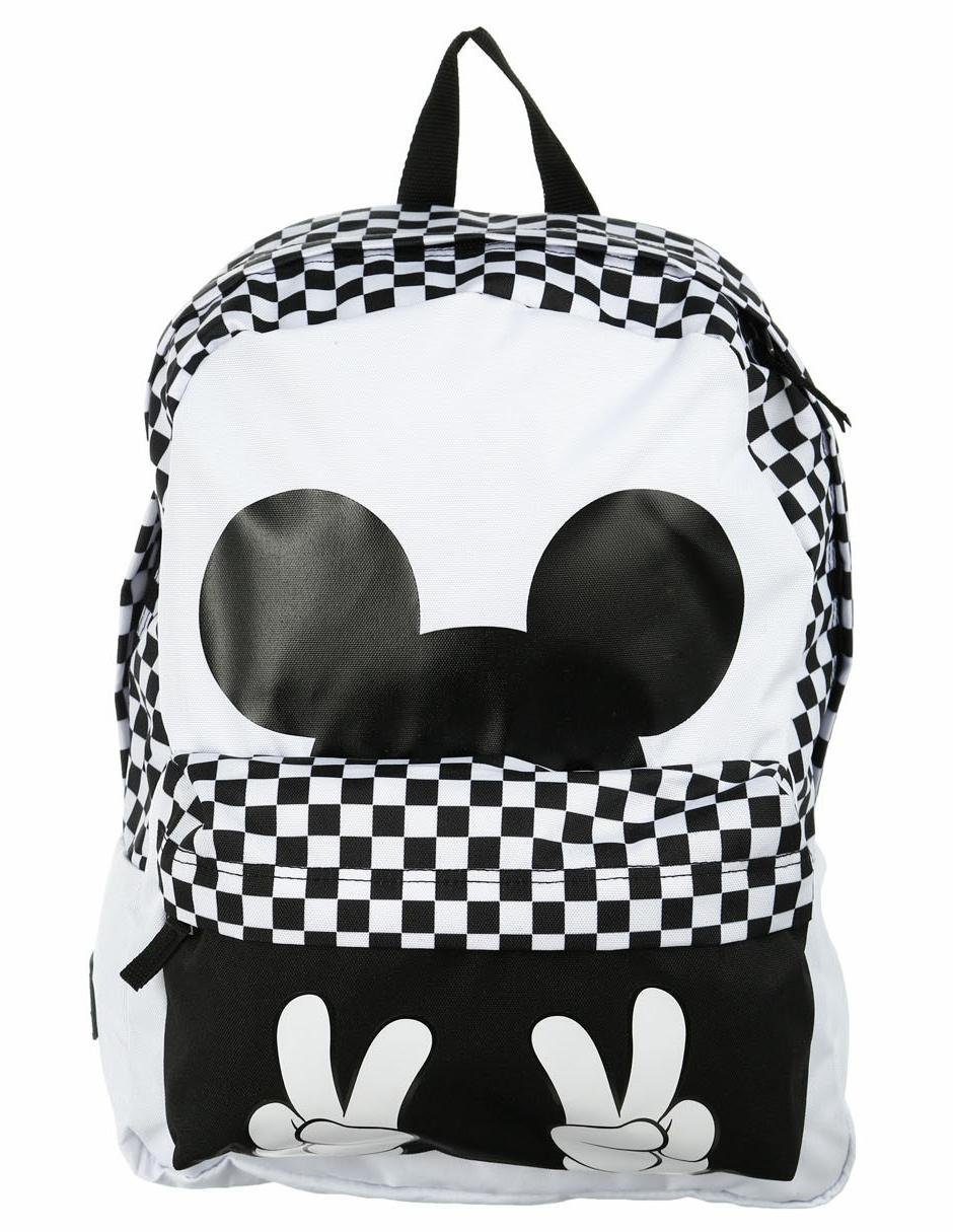 62a781e0b07de Mochila con diseño gráfico Vans Disney Mickey Mouse blanca ...