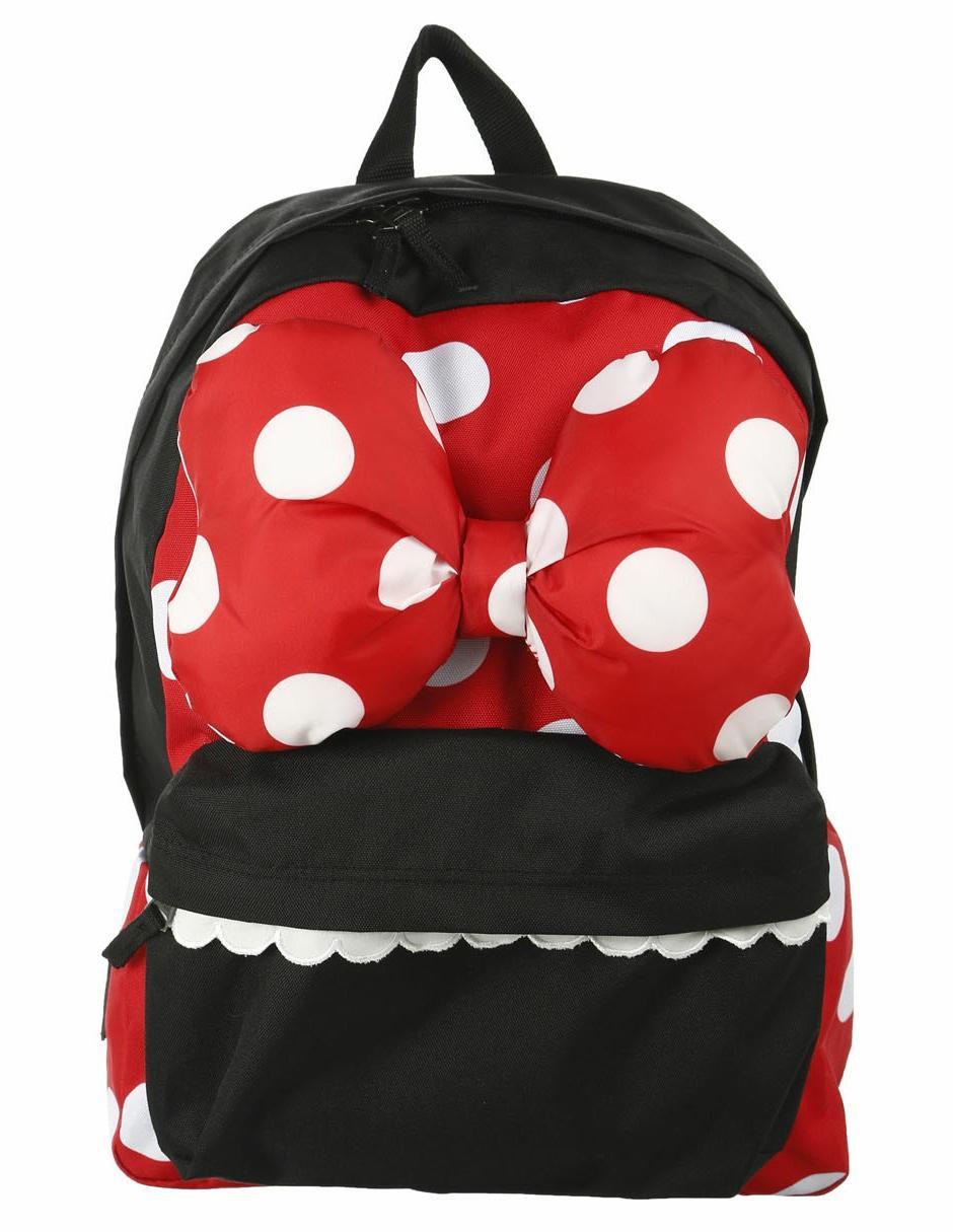 f4a5909b840bd Mochila con diseño gráfico Vans Disney Mickey Mouse roja