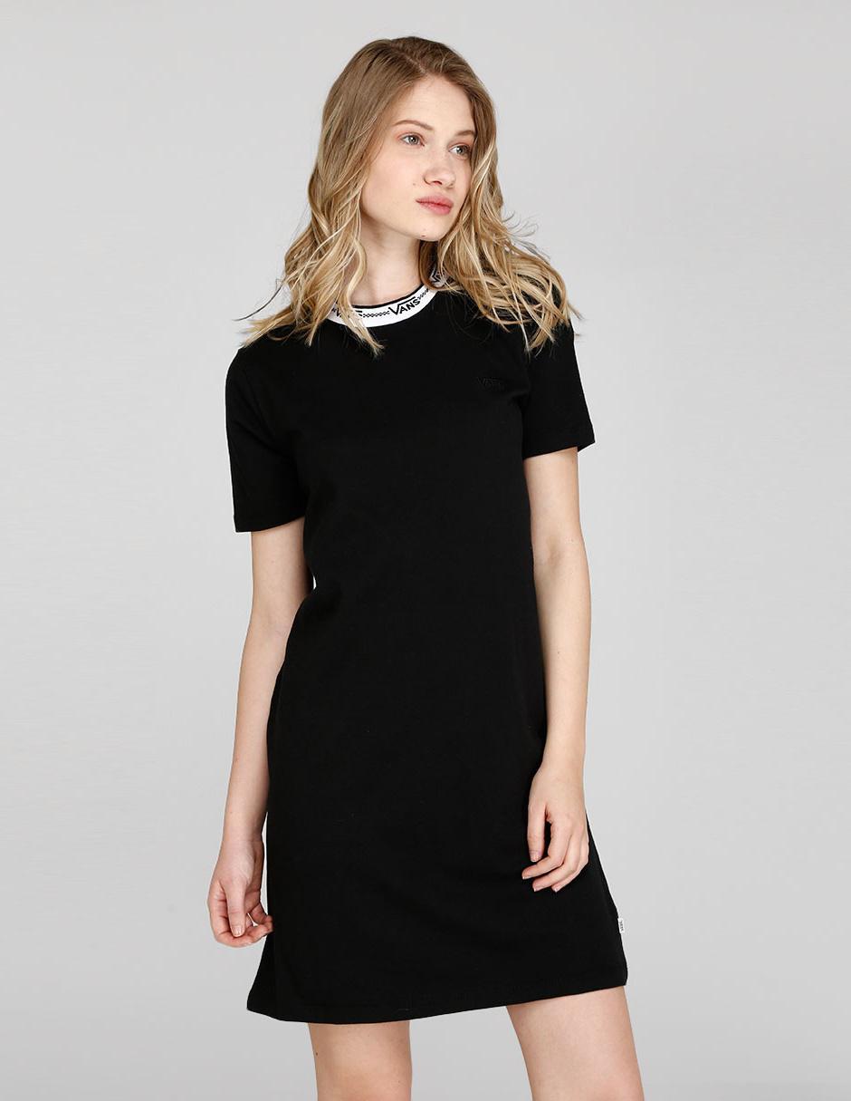 Vestido Vans Negro Casual